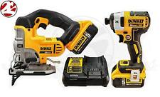 DeWALT DCS331 DCF887 20V MAX Li-Ion Brushless 5.0 Ah 3 Speed Impact Jig Saw Kit