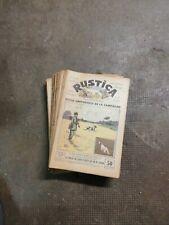 RUSTICA 35 numéros de 1932
