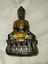 Chinese Qianling Mark And Period Gold Draped Buddha
