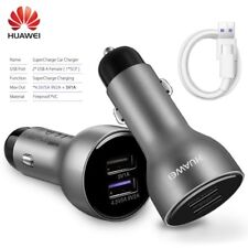 Original HUAWEI SuperCharge Car Charger 5A Type-c Cable For P10 Plus Mate 9 pro