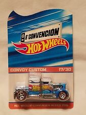 2015 Mexico Hot Wheels 8A Convention Race Team Convoy Custom Truck #17/30!