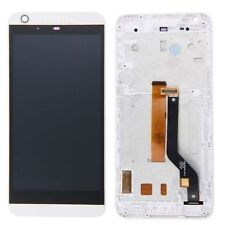DISPLAY +TOUCH SCREEN PER HTC DESIRE 626PH VETRO +COVER FRAME BIANCO LCD CORNICE