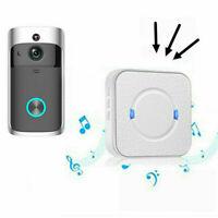 Sans fil WiFi Vidéo sonnette Smart Phone Porte Anneau Interphone Sécurité Caméra