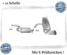 Auspuffanlage Audi A3 Sportback (8PA) 1.4 TFSI Bj.04-13 Auspuff Schelle Chrom