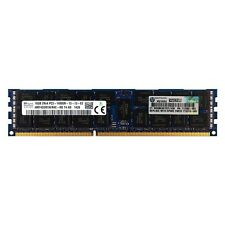HP 16GB 2Rx4 PC3-14900R DDR3 1866 ECC Registered REG RDIMM Server Memory RAM 16G