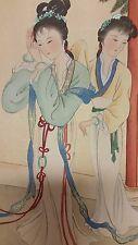 Very Fine Oriental Vintage Painted Art