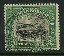 Used Single George V (1910-1936) North Bornean Stamps
