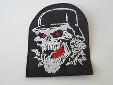 Slayer Skull Embroidered Patch