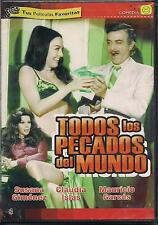 Todos Los Pecados Del Mundo DVD NEW Mauricio Garces Factory Sealed!