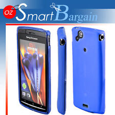BLUE Soft Gel Case For SONY ERICSSON XPERIA ARC X12