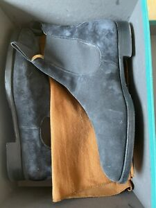 Edward Green Boots Newmarket Navy Suede 8UK