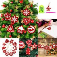 Shape Rhinestones Christmas Tree Pendant 5D Diamond Painting Xmas Ornament