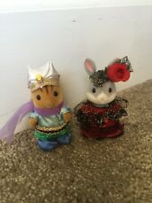 Sylvanian Families 15th Anniversary World Parade Spain & Arabia Costume Rare
