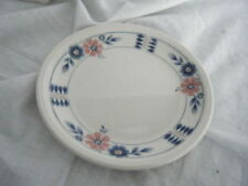Earthenware Blue Staffordshire Pottery Side Plates