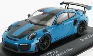 1/43 MINICHAMPS - PORSCHE - 911 991-2 GT2 RS WEISSACH PACKAGE 2018 413067234