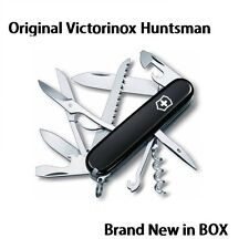 🌟🌟🌟 1.3713.3 Victorinox Swiss Pocket Knife Huntsman BLACK 53203 1.3713 🌟🌟🌟
