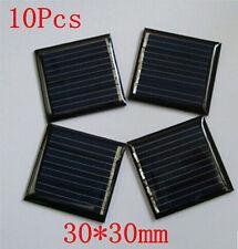10Pcs 2V 45mAh 30X30mm Mini Power Small Solar Panel Cell For DIY Solar Light Toy