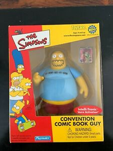 Brand New ToyFare The Simpsons Convention Comic Book Guy Action Figure
