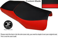 DESIGN 2 BLACK & RED VINYL CUSTOM FITS YAMAHA FZS 600 98-04 SEAT COVER ONLY