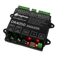 Digikeijs DR4050 RGB LED Controller ~ USB PC Interface Works With All DCC Brands