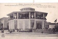 ORIG 1925 Parigi Exposition des Arts decoratifs cartolina ART DECO Edgar BRANDT
