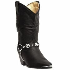 Ladies Dingo Olivia Black with Harness Boot  Style Number: DI522