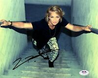 """ZOE BELL Signed Autographed 8X10 Photo """"ACTRESS, STUNT DOUBLE"""" PSA/DNA #AH64455"""