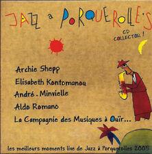 Compilation CD EP Jazz A Porquerolles - Promo - France (VG+/VG+)