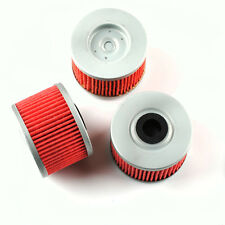 3 Oil Filter HF112 & KN112 for KAWASAKI KX450F KLX140 Honda TRX300 TRX250