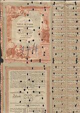 DECO => Emprunt de la VILLE DE PARIS 1904 (J)