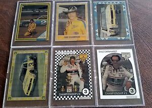 1994 Card Dynamics Double Eagle Dale Earnhardt 6 Metal Card Set NASCAR Racing