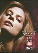 HUGO BOSS essence de femme - 2007 Perfume Print Ad