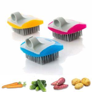 Veggie Dish Potato Fruit Scrubber Kitchen Suppily Cleaning Tool Vegetable Brush