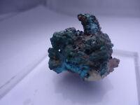 Cerussite w/ Chrysocolla, Australia, Thumbnail Sized Specimen #T238