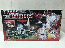 Transformers G1 Metroplex Box and Styrofoam Custom