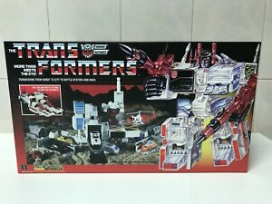 Transformers G1 Metroplex Box and Styrofoam Custom