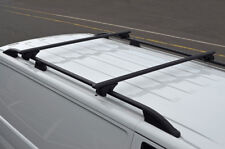 Black Cross bars for Roof Rails to fit Citroen Berlingo (2008+) 100 kg lockable