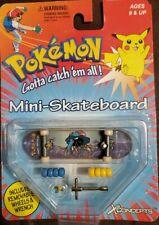 "Vintage Pokemon Mini Skateboard 1999 Nintendo ""Bulbagarden"" With Wheels & Wrench"