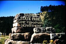 #10 35mm slide - Vintage - Collectibles - Photo - custer state park game fish