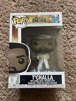 Funko POP! Marvel Black Panther T'Challa White Robe #352 NEW 🔥
