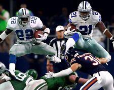 EMMITT SMITH & EZEKIEL ELLIOTT 8X10 PHOTO DALLAS COWBOYS PICTURE FOOTBALL  NFL