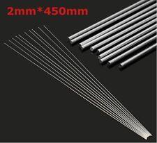 10pcs 2mmx45cm Aluminium Low Temperature Welding Brazing Rod for All AL Parts