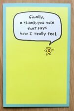 Thank You Card With Envelope - How I Really Feel - Thoughtful Funny, Usa
