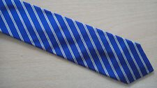 Paul Smith Skinny Tie  Blue MADE IN ITALY 6cm