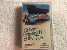 RARE-Brand New-Sealed-Salem Cigarettes Greatest Hits Of The 70s-1988 Cass Tape#D