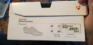 Bontrager Ballista Carbon Knit Road Shoes White 12.0/45