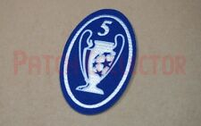 UEFA Champions League 5 Times Trophy - Light blue Patch / Badge