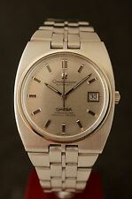 TOP MINT NOS OMEGA CONSTELLATION CHRONOMETER AUTOMATIK 1970 DATE CAL 1001