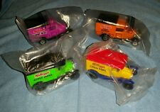 NEW NIP 1989 Matchbox Kelloggs Model T & A Delivery Trucks Set of 4 hot wheels