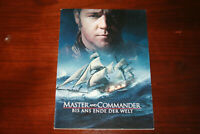 Master and Commander mit Russell Crowe - Presseheft